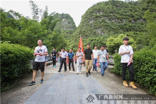 网媒记者参观广西农民运动讲习所旧址