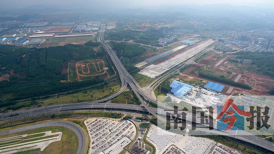 柳州东外环大部分通车 从鹧鸪江到桂柳高速仅需10多分钟