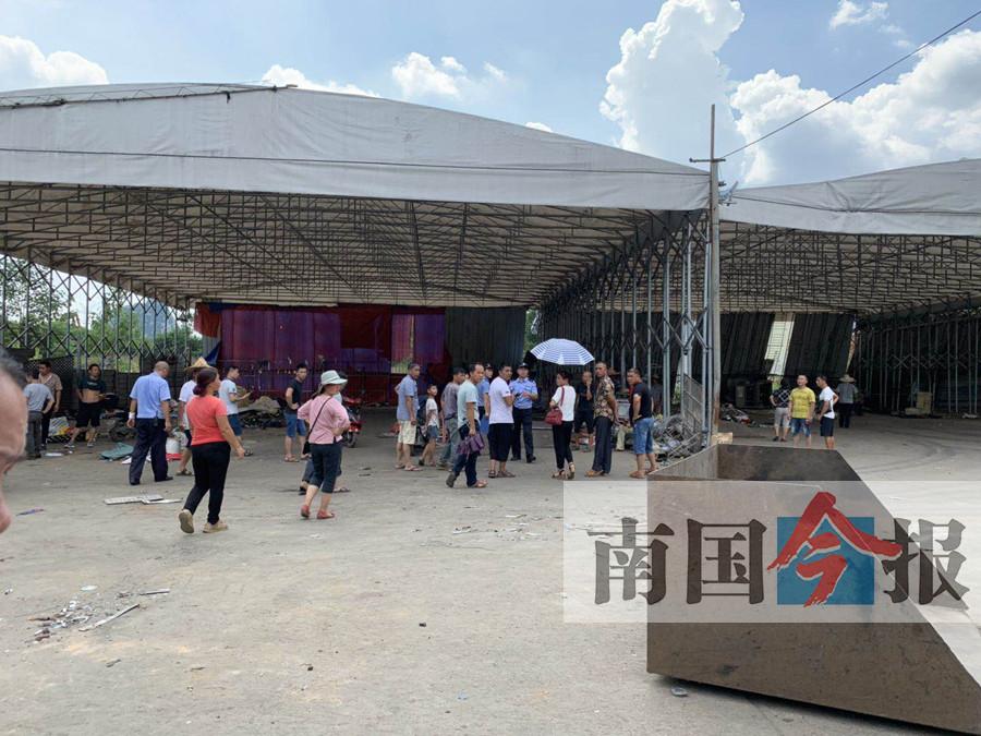 柳州一金属回收场一夜搬空 300多人被欠上百万元