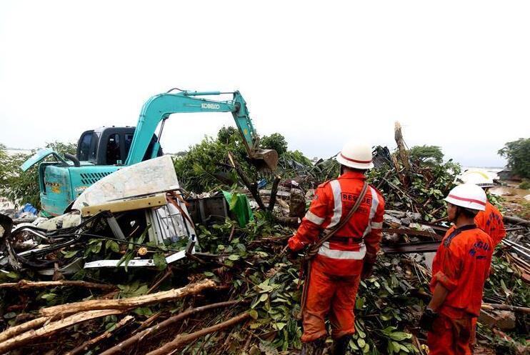 缅甸孟邦山体滑坡已致41人丧生