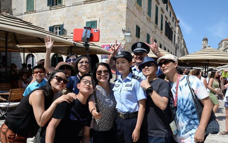 中国与克罗地亚第二次警务联巡圆满落幕