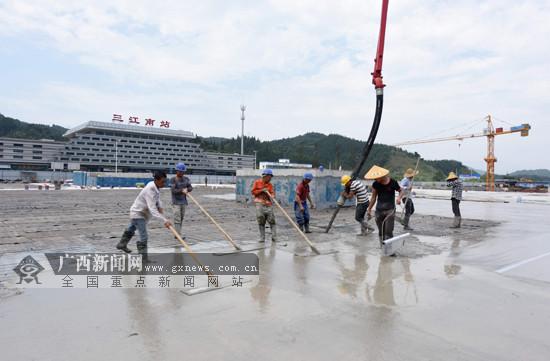广西三江:狠抓项目迎盛会(图)