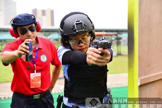 2019南宁公安警务射击比赛落幕 难度系数为历年之最
