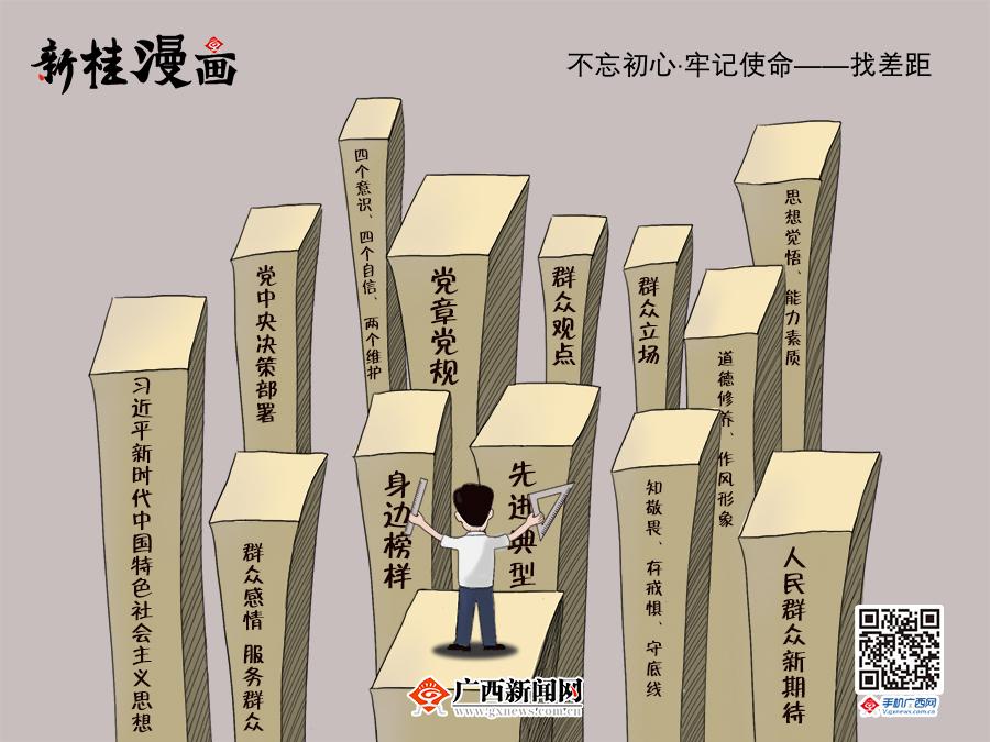 【新桂漫画】不忘初心 牢记使命