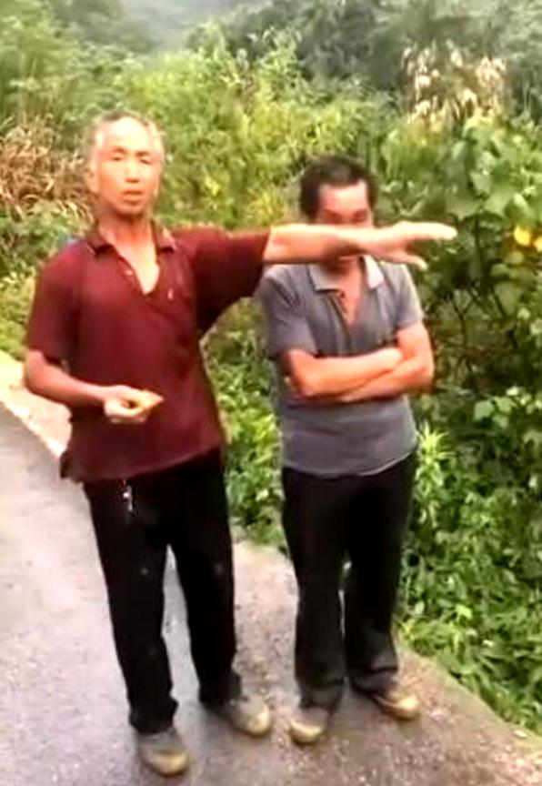 G357永福段一轎車沖入水塘 村民救出2人3人死亡