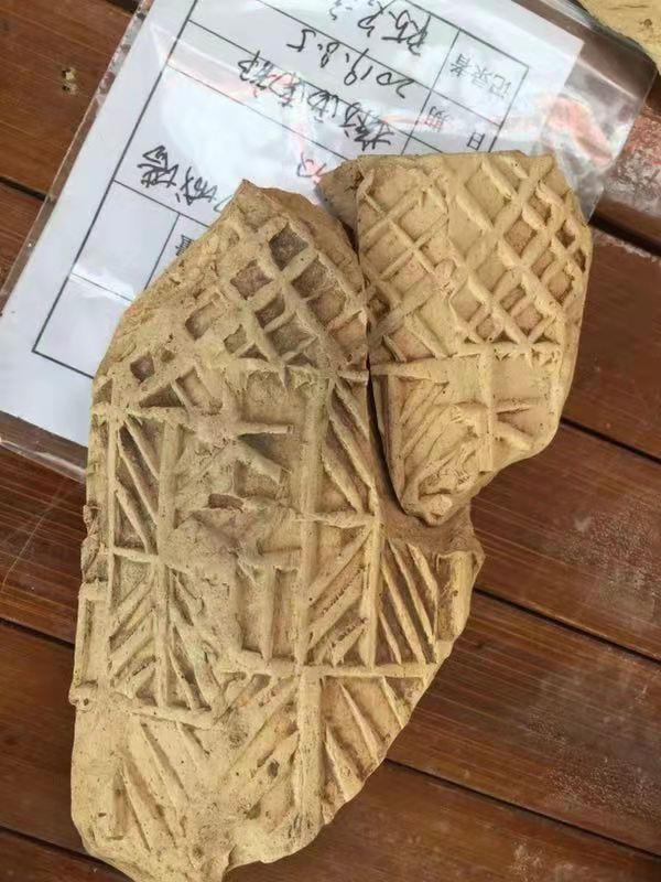 贵港考古又有重大发现 近300米古城墙基础露真容