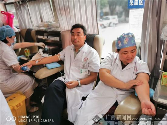 捐献热血 挽救生命 南溪山医院医务人员在行动