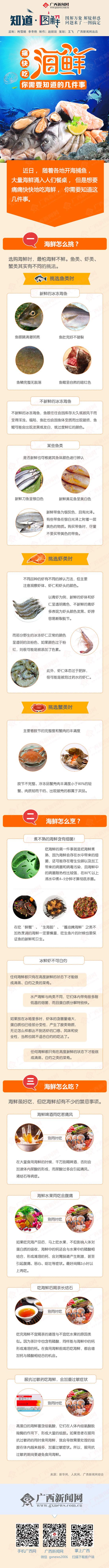【知道·图解】痛快吃海鲜,你需要知道的几件事