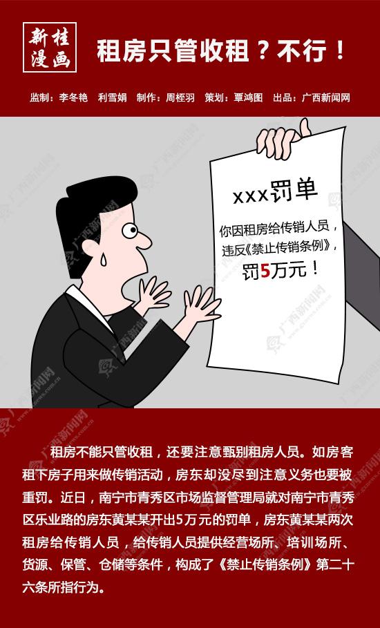 【新桂漫画】租房只管收租?不行!