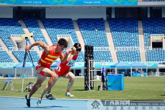 全国残运会暨特奥会进行中 南宁姑娘刘翠青超世界纪录0.05秒