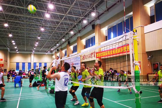 滚动:第五届广西城乡万人气排球赛南宁赛区决赛收官