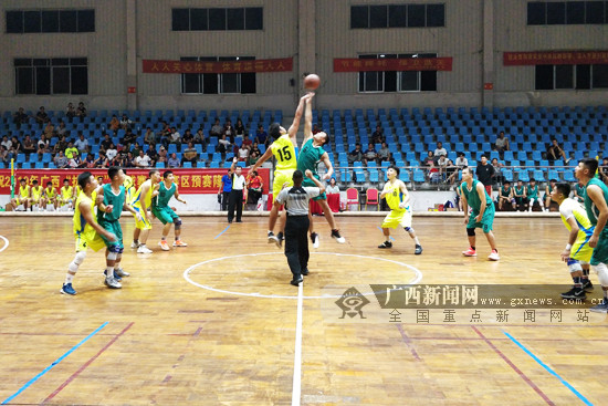 """2019广西""""拔群杯""""篮球赛崇左赛区战罢 6支队伍晋级"""