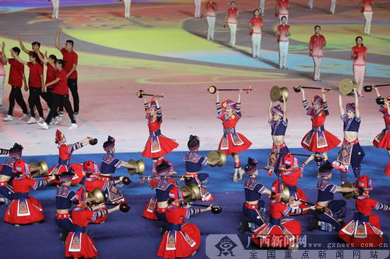 第十一届全国少数民族传统体育运动会开幕式在郑州举行图片