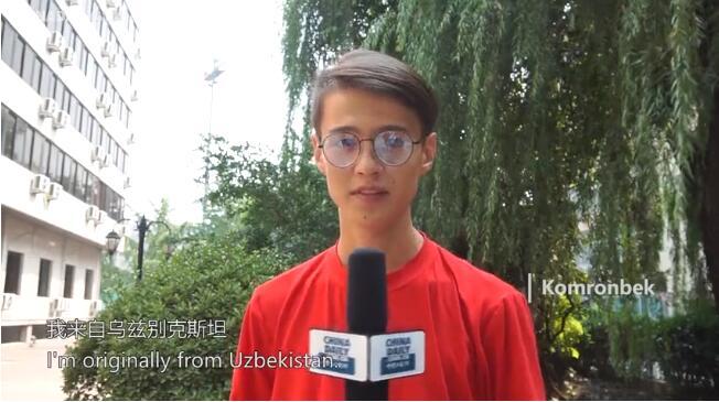 【我爱你,中国!】新中国成立70周年 外国留学生献祝福