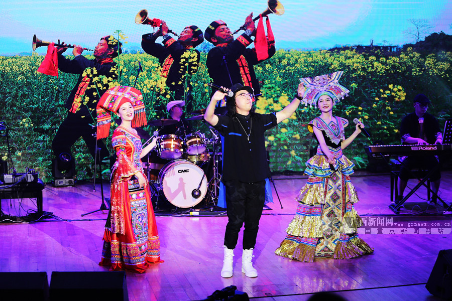 广西优秀原创作品音乐会《风情广西》在邕首演