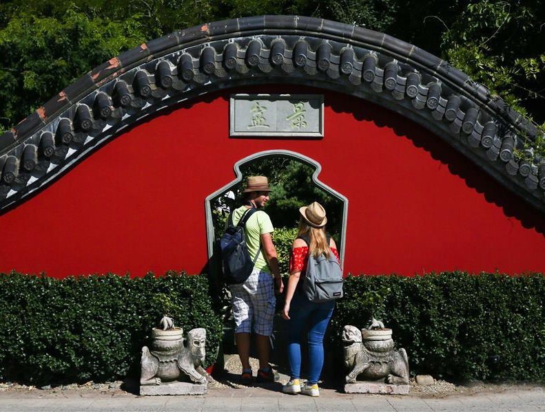 比利时天堂动物园的园林之美