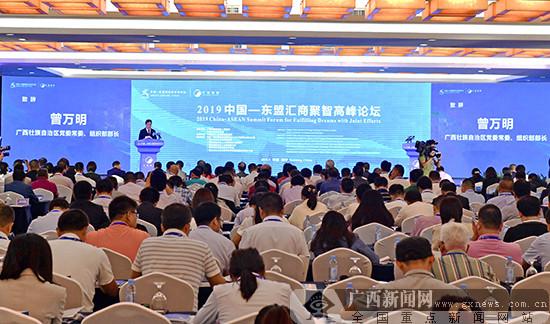 2019中国-东盟汇商聚智高峰论坛在南宁开幕