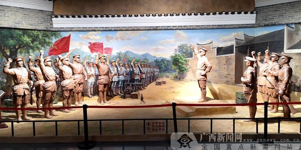 全国媒体湖南行采访团参观平江起义纪念馆