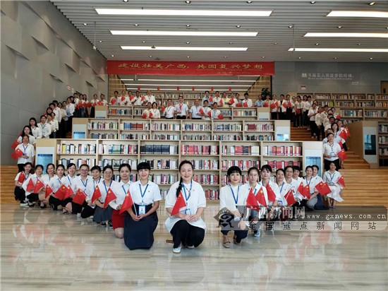 南宁图书馆举行大型广场阅读系列主题活动