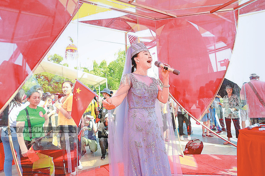 南宁市良庆区启动70小时山歌联唱大挑战活动