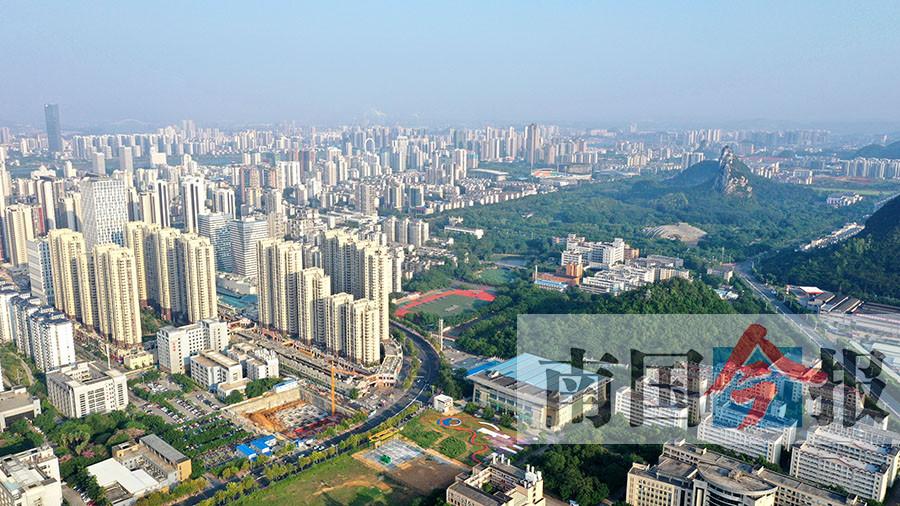 """七次城市总体规划 引领柳州七十年""""蝶变""""(图)"""