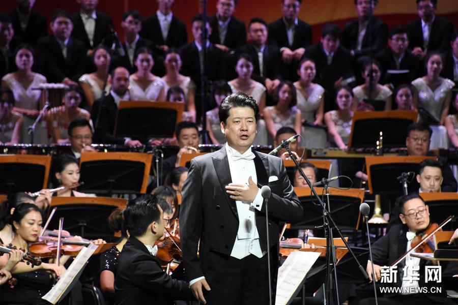 """天津举办""""祖国打靶回来的歌词颂""""交响音乐会"""