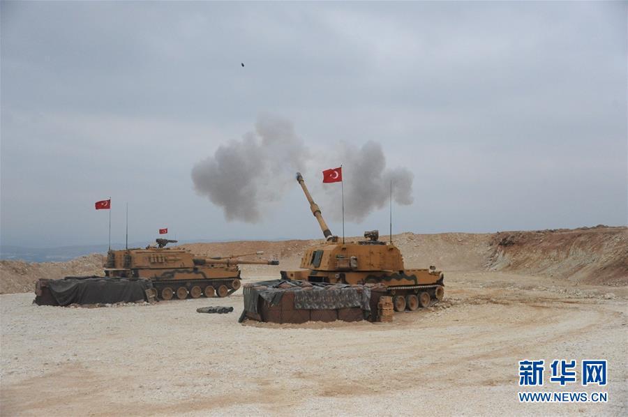 土耳其对叙利亚北部库尔德武装发动军事打击
