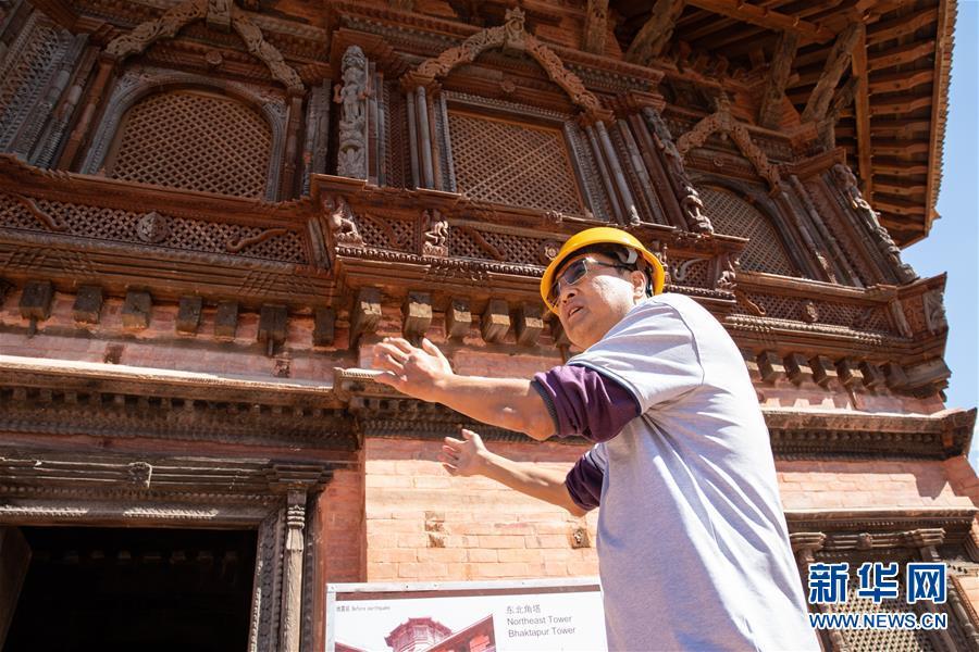 尼泊尔工艺家和中国文物修复师的历史之约