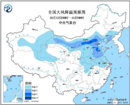 来了!冷空气已抵达广西带来降雨 桂北降温明显