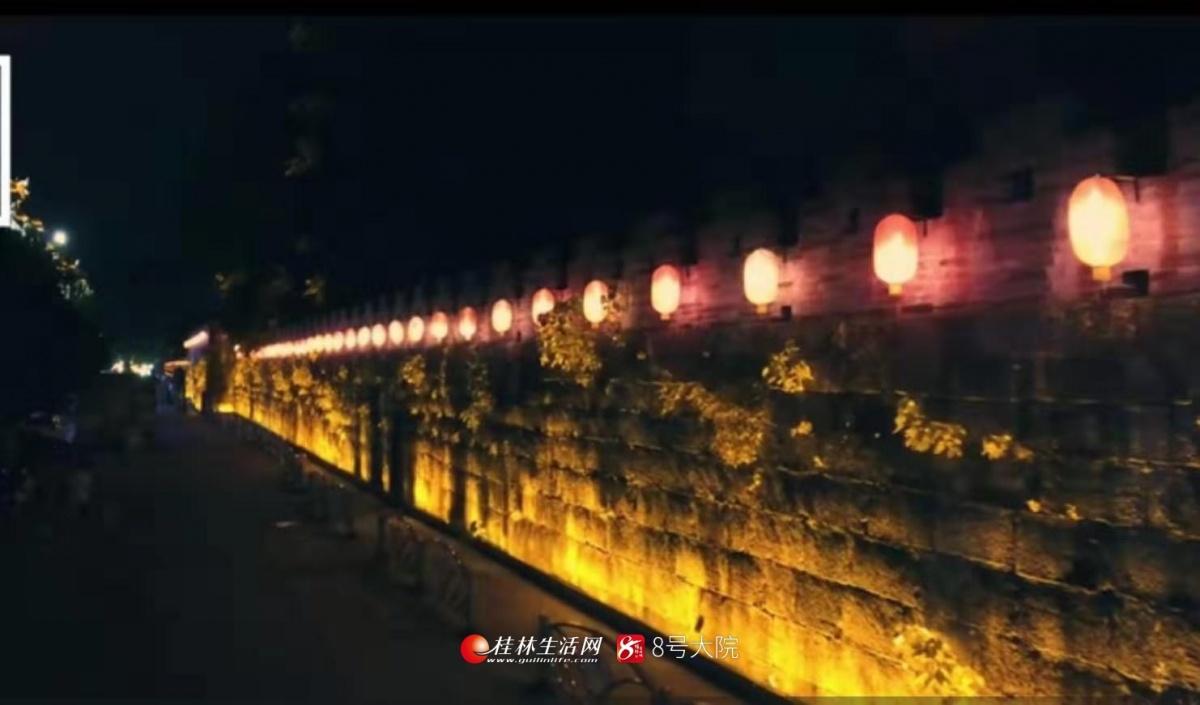 �蜢n!桂林又一�休�e街�^亮了,用了42471�K��
