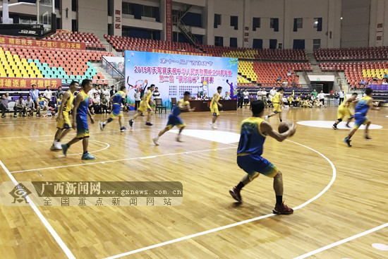 """天等县举办第二届""""俱乐部杯""""篮球赛服务百姓需求"""