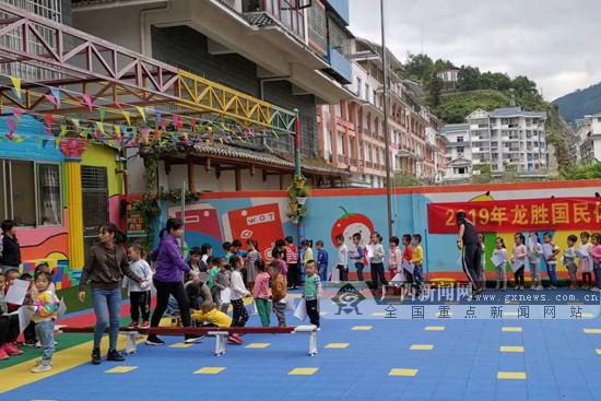 桂林龙胜开展幼儿群体2019年国民体质监测活动