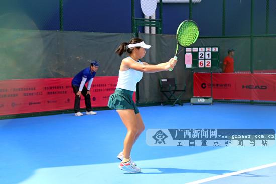 2019 ITF国际女子网球巡回赛南宁站开赛 27日结束