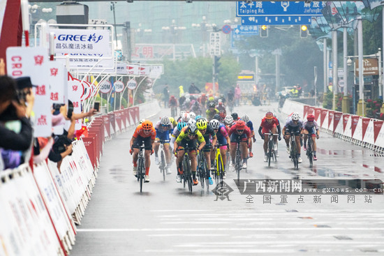 """2019""""环广西""""女子赛:中国国家队李九斤获亚洲最佳"""
