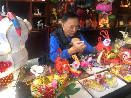 非遗为旅游添彩 在南京民俗博物馆领略指尖艺术