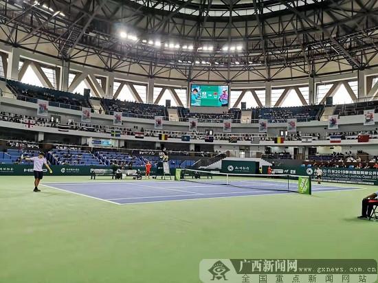 2019柳州国际网球公开赛盛大开幕 51国选手PK球技