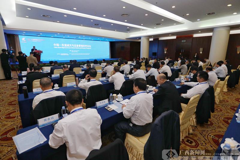 2019年中国-东盟减灾与应急管理高官论坛在南宁召开