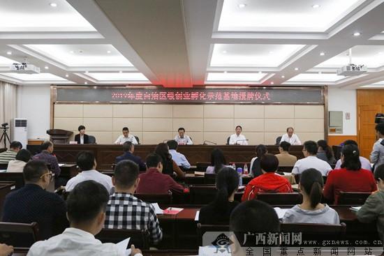 廣西公布2019年自治區級創業孵化示范基地