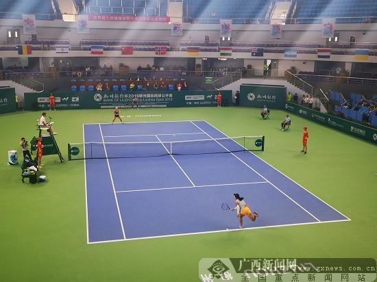 2019威尼斯人网站国际网球公开赛落幕 朱琳力夺女单冠军