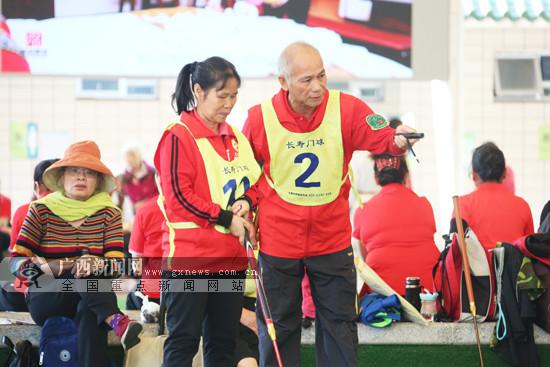 第二届南宁门球邀请赛开赛 全国各地44支队伍角逐