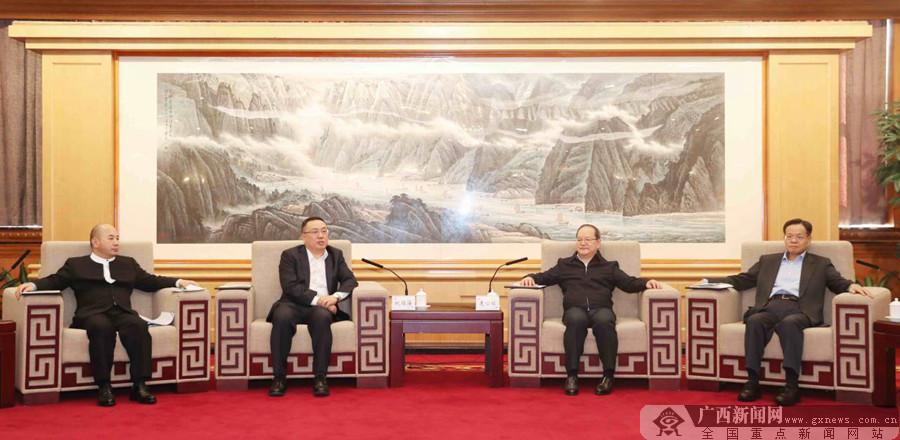 广西全面对接粤港澳大湾区产业发展推介会暨签约仪式在深圳举行