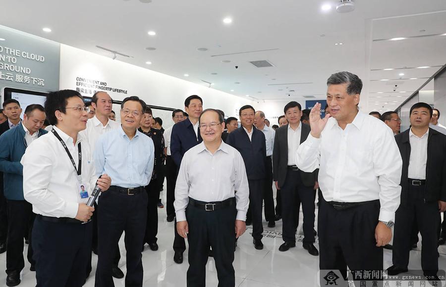 广西党政代表团赴广东学习考察并出席粤桂扶贫协作工作座谈会