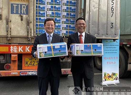 首批符合AGQC标准的泰国水果运抵南宁