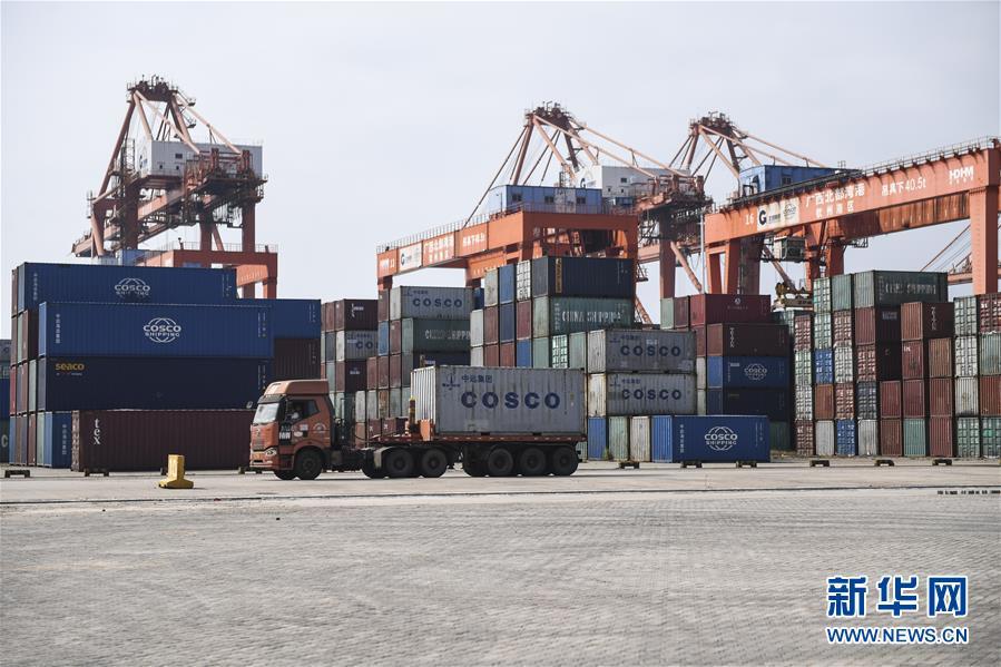 广西钦州港助力西部陆海新通道建设