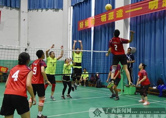 建工联建喜获广西建筑装饰协会气排球比赛亚军