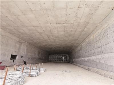 柳州最长下穿地道 年底可完成主体施工