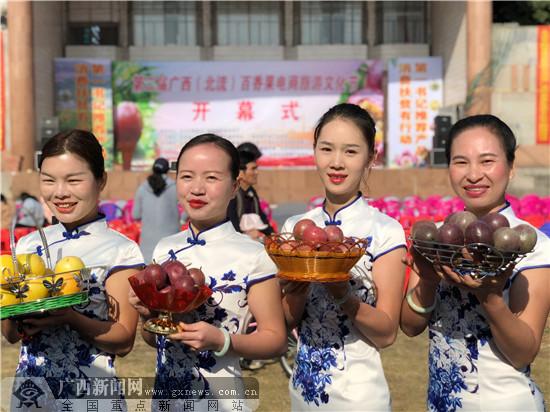 第二届广西(北流)百香果电商旅游文化节举行