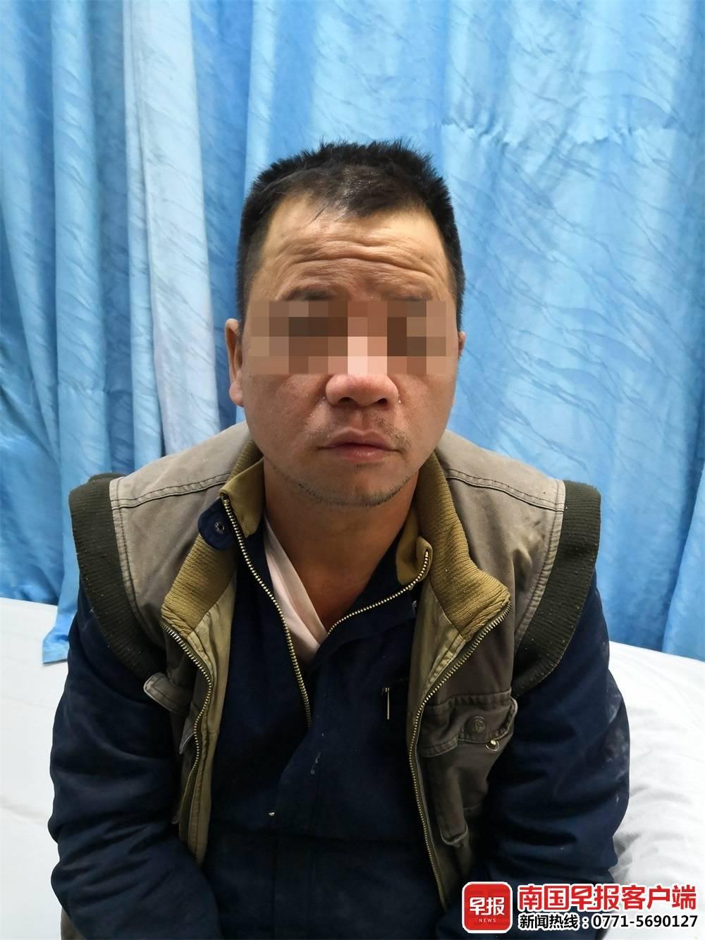 钦州一男子砍死人24年后自首 逃亡路上曾做乞丐