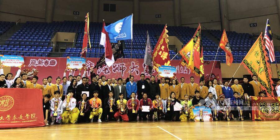 2019中华龙狮大赛钦州站:武汉体院队收获两个金奖