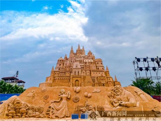 2020中國(南寧)國際沙雕藝術節正式啟幕